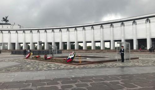 В школе №554 состоялся «День кадетского класса в Музее Победы»