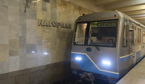 """В метро """"Нагорная"""" установили  вторые двери к зиме"""