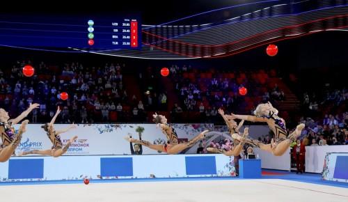 В центре «Меридиан» состоится открытый урок студии «Художественная гимнастика»