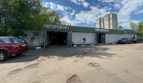 В Конькове Госинспекция по недвижимости ликвидировала незаконную автомастерскую
