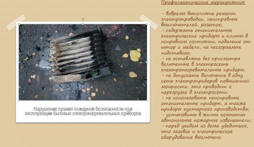 Правила эксплуатации бытовых электронагревательных приборов