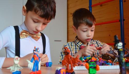 В библиотеке №181 опубликовали репортаж о занятиях в мастерской «Юный архитектор»