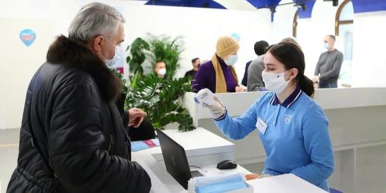Сделать прививку в ГУМе смогут до 5 тысяч человек в день