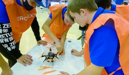 Школьники из ЮЗАО стали лучшими операторами дронов на московском чемпионате