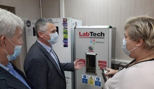 В ЮЗАО прошла тренировка по развертыванию объектовой лаборатории