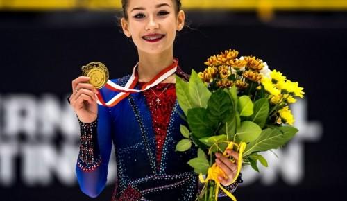 """Воспитанница """"Самбо-70"""" Софья Акатьева одержала очередную победу на юниорском Гран-При по фигурному катанию"""