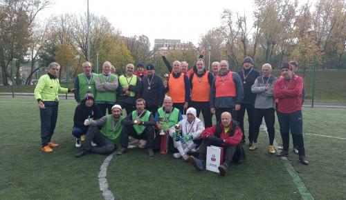 В Академическом районе отметили День старшего поколения турниром по мини-футболу