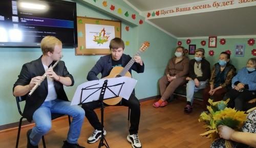 """В отделении """"Ясенево"""" Центра имени Е.П. Глинки состоялся праздничный концерт"""