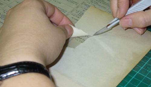 В Главархиве рассказали, как не стоит реставрировать документы в домашних условиях