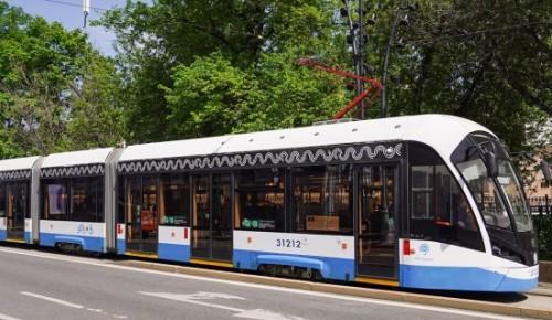 Через Зюзино будет проходить новая трамвайная линия