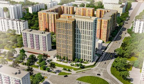 В Конькове в 2023 году сдадут в эксплуатацию жилой дом по программе реновации на 418 квартир