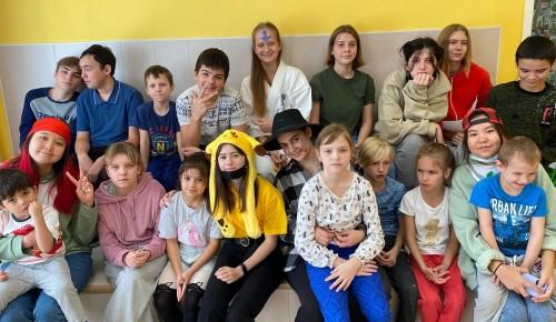 Активисты профкома Губкинского университета посетили Химкинский социально- реабилитационный центр