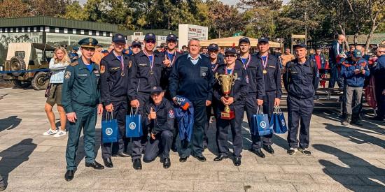 Сборная спасателей Москвы завоевала первое место на чемпионате России по многоборью