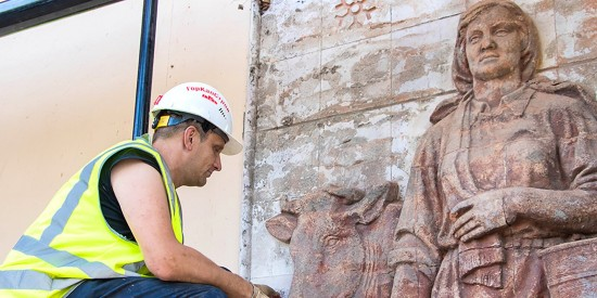 Реставраторы нашли на ВДНХ считавшиеся утраченными полотна и элементы декора — Сергунина