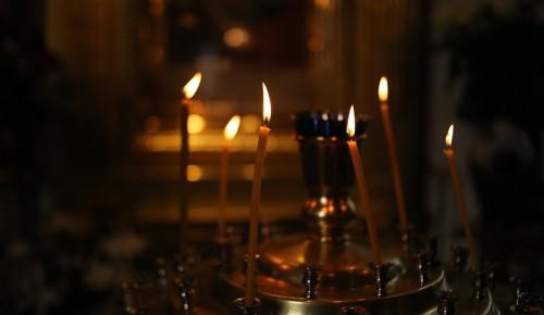 Воспитанники воскресной школы при храме Евфросинии Московской посетили Донской монастырь