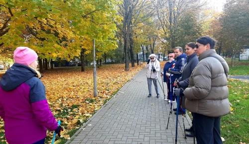 В «Ратмире» рассказали о прошедшем мастер-классе по скандинавской ходьбе