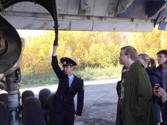 Ученики школы №2114 побывали на экскурсии в Шереметьево