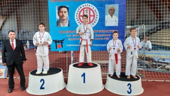 Воспитанники «Ратмира» показали отличный результат на Открытом Кубке городского округа Щелково