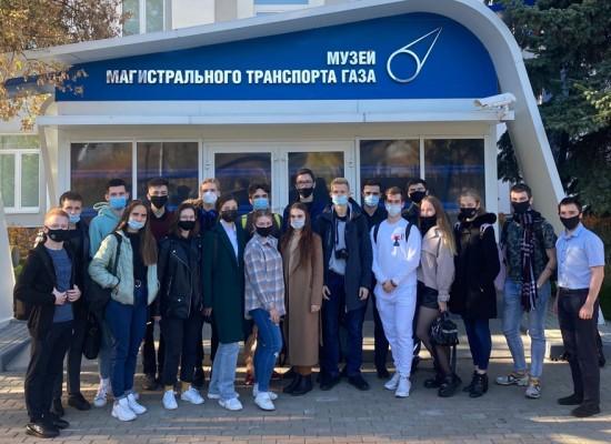 Студенты Губкинского университета посетили  Музей магистрального транспорта газа