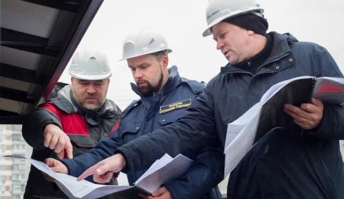 Строящийся комплекс «Спартак-Волейбол» в Ясеневе проверит комиссия