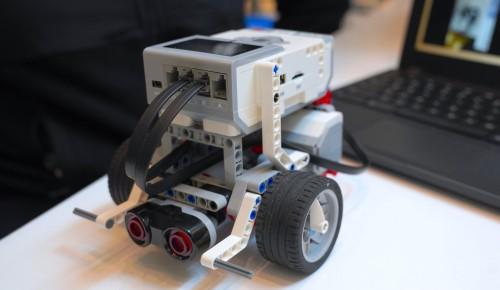 В школе №1532 пройдет чемпионат по робототехнике