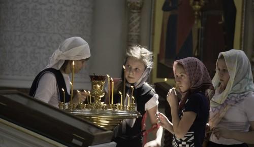 В храме Евфросинии Московской с ноября изменится расписание богослужений