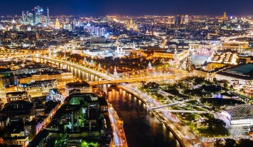 Собянин: С каждым годом Москва становится все более экологичным городом