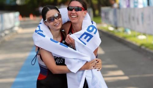 Триатлонистка из Котловки.  Как потеря зрения подтолкнула Ксению Выборных к занятиям спортом