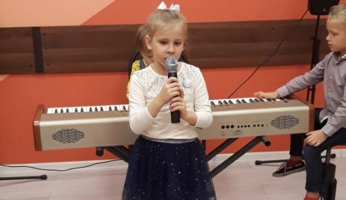 В «Альмеге» состоялось мероприятие студии эстрадного вокала «Нотки» «Осень с душой артиста»