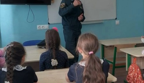 Акция пожарной безопасности в воскресной школе