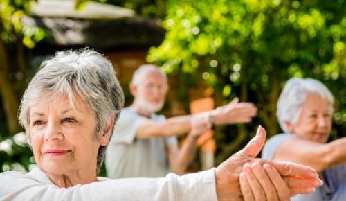 """Центр """"Атлант"""" приглашает пожилых людей на бесплатные тренировки по суставной гимнастике"""