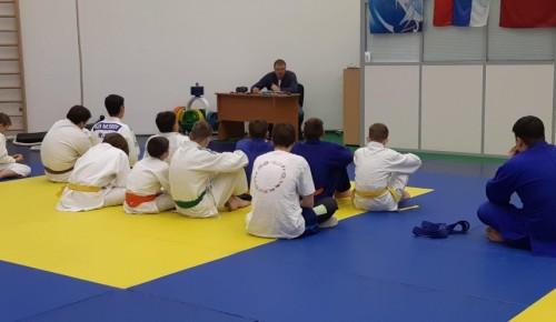 Спортсмены СШОР «Нагорная» прослушали профилактические лекции