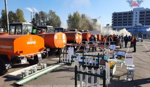 Пункт выдачи питьевой воды населению в Гагаринском районе стал одним из лучших в ЮЗАО