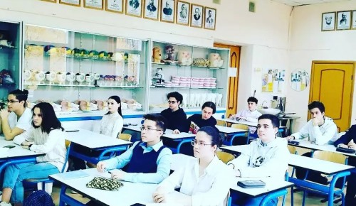 В школе № 199 прошла встреча с учеными РАН
