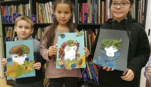 В библиотеке № 175 прошел творческий мастер-класс для детей