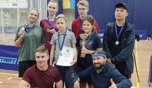 Сборная Котловки заняла второе место в окружных соревнованиях по настольному теннису
