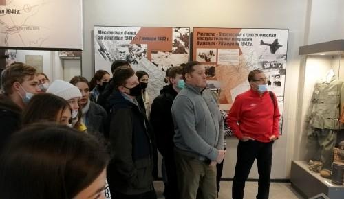 Студенты Губкинского университета съездили в Ржев в рамках проекта патриотического воспитания