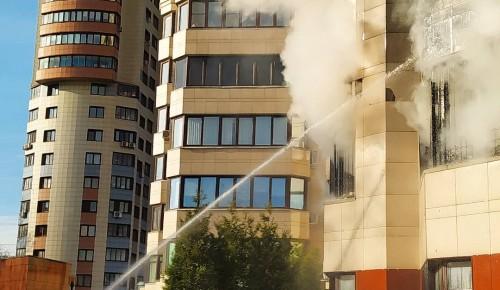 В Черемушках ликвидировано возгорание в жилом доме
