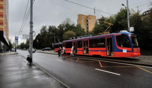 Московский метрополитен рекомендовал трамвайный маршрут в Черемушках любителям наслаждаться видами