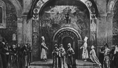 Главархив показал фотографии из спектаклей Художественного театра 50-х годов