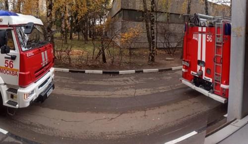 В РУДН прошли пожарно-тактические учения